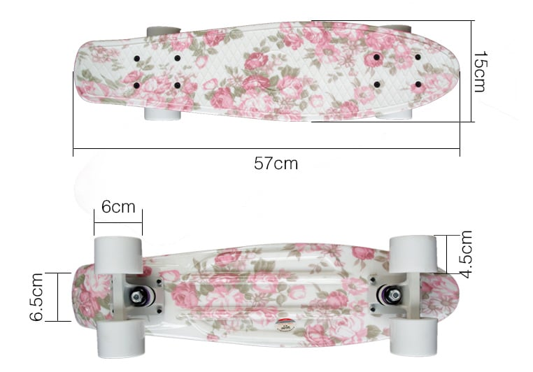 Penny skateboardy pro dívky